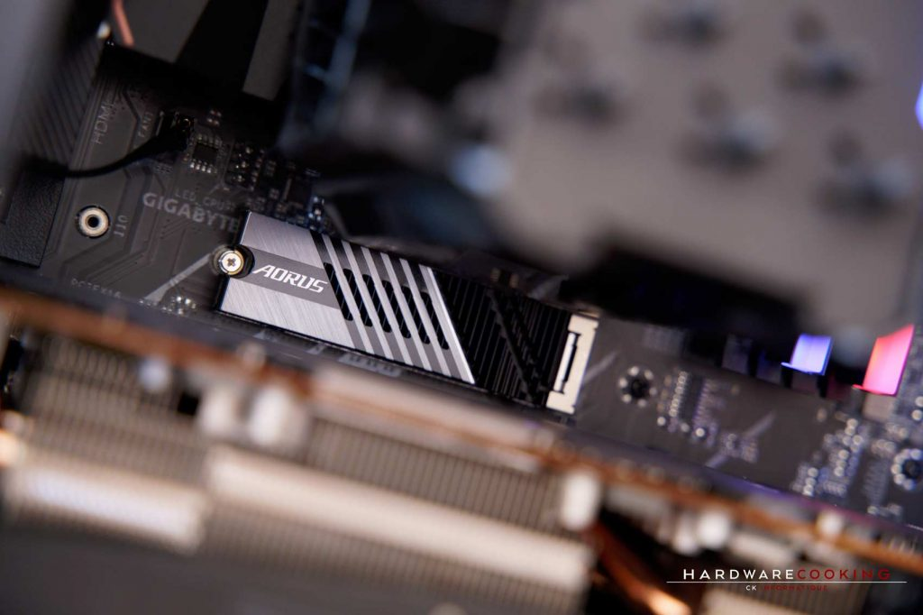 SSD AORUS Gen4 7000s