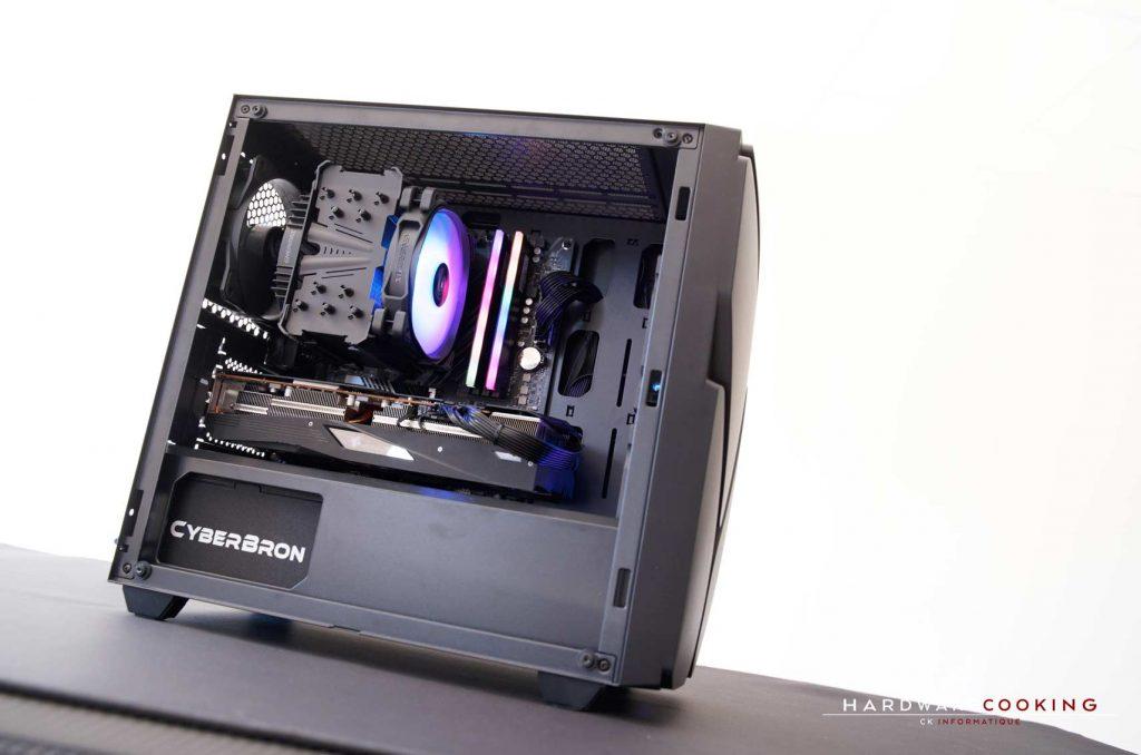 Build Enermax MarbleFalcon ventirad