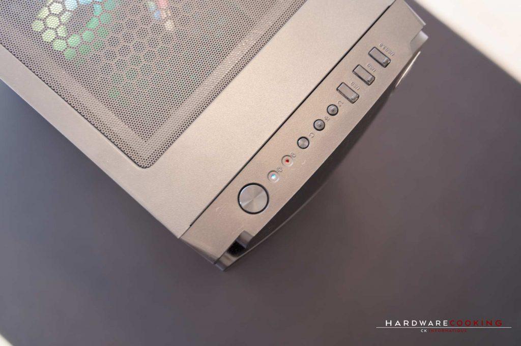Build Enermax MarbleFalcon front panel