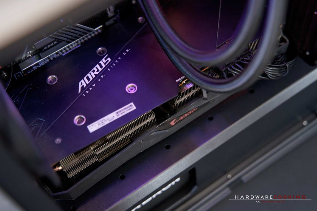 Backplate AORUS RX 5700 XT 8G