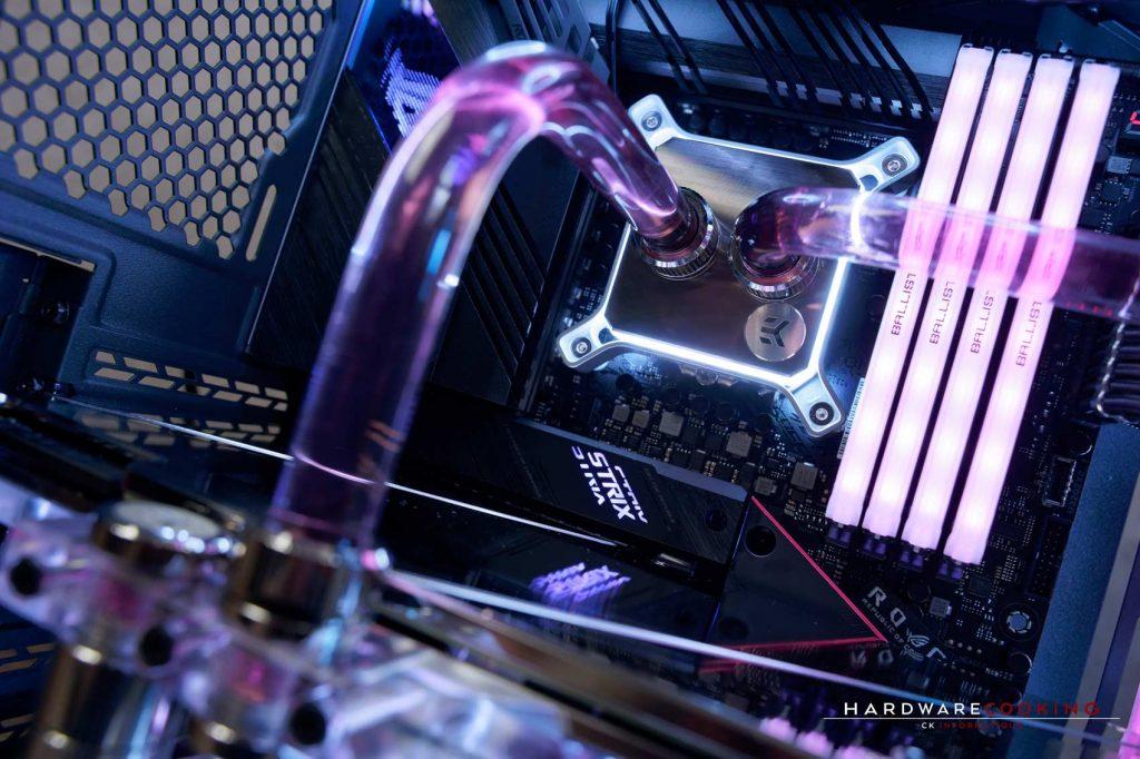 Build Lian Li O11 Dynamic MINI watercooling custom