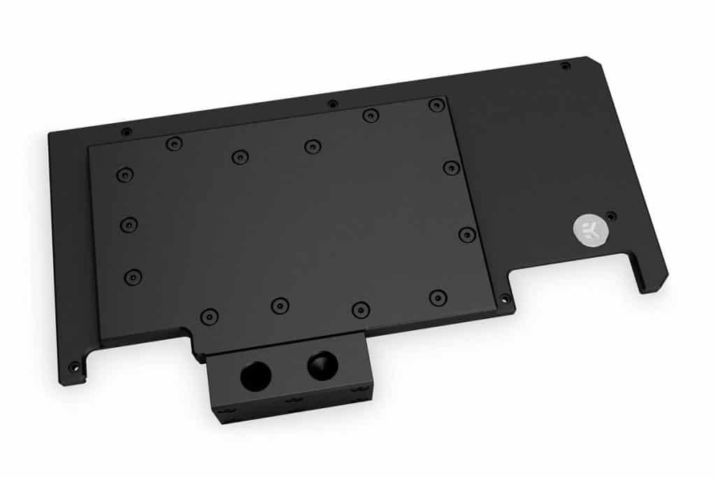 EK-Quantum Vector Strix RTX 3080/3090 Active Backplate Acetal