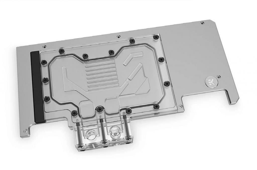 EK-Quantum Vector Strix RTX 3080/3090 Active Backplate Plexy