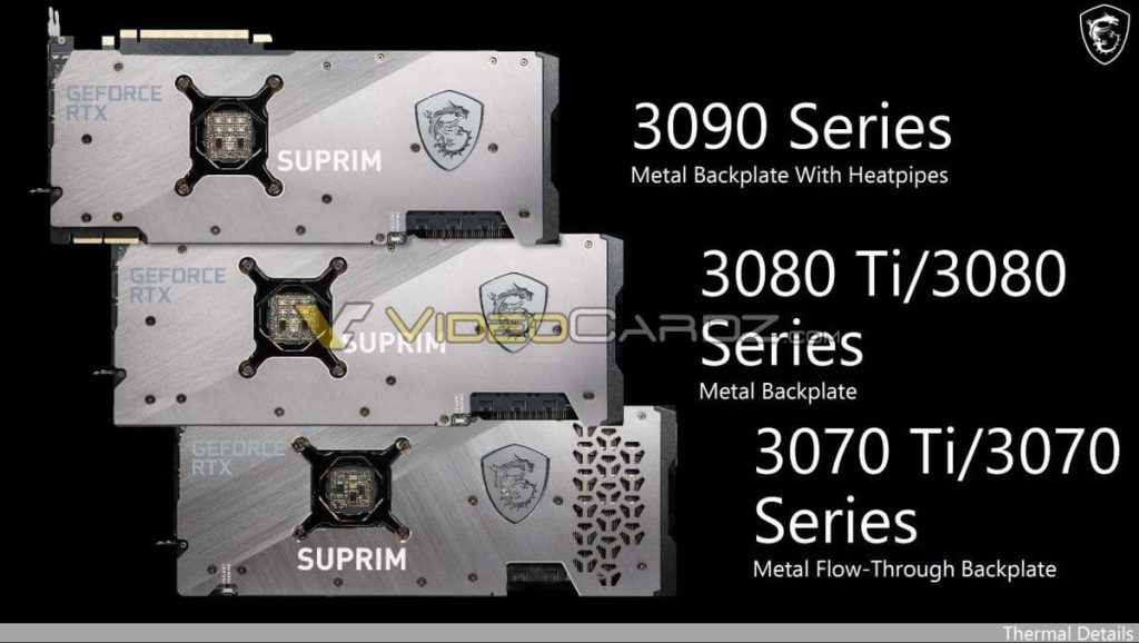 MSI GeForce RTX 3080 Ti & RTX 3070 Ti