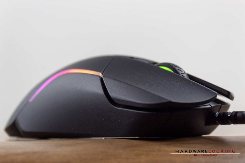 Test souris SteelSeries Rival 5