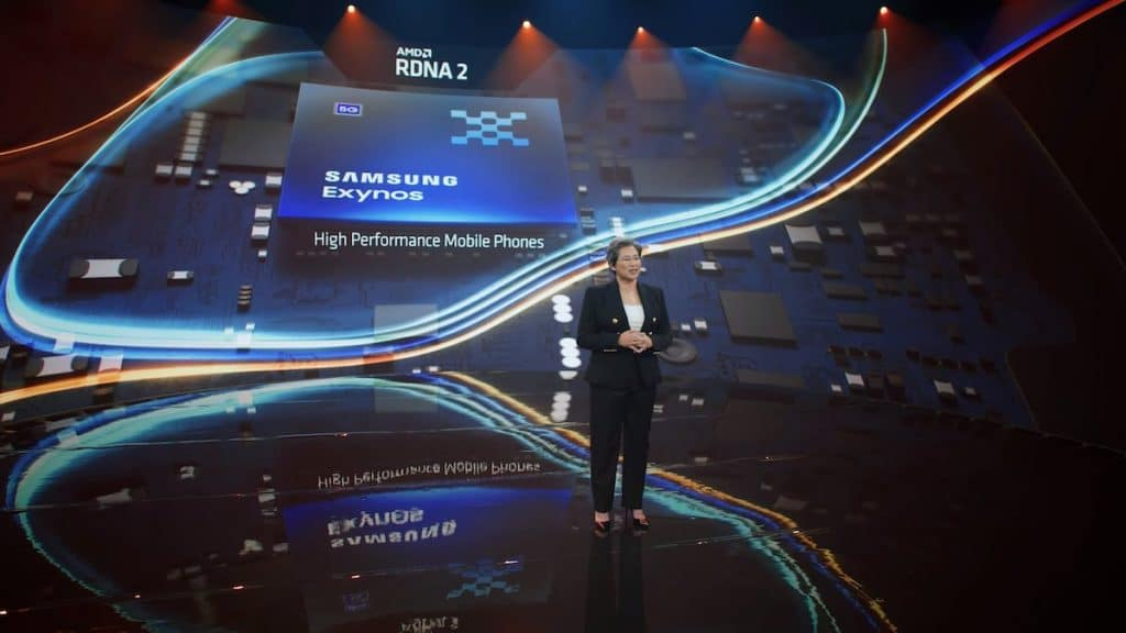 Samsung Exynos à Conférence AMD
