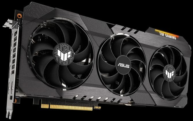 ASUS TUF Gaming GeForce RTX 3080 Ti et RTX 3070 Ti