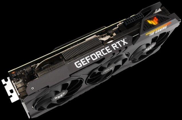 TUF Gaming GeForce RTX 3080 Ti et RTX 3070 Ti