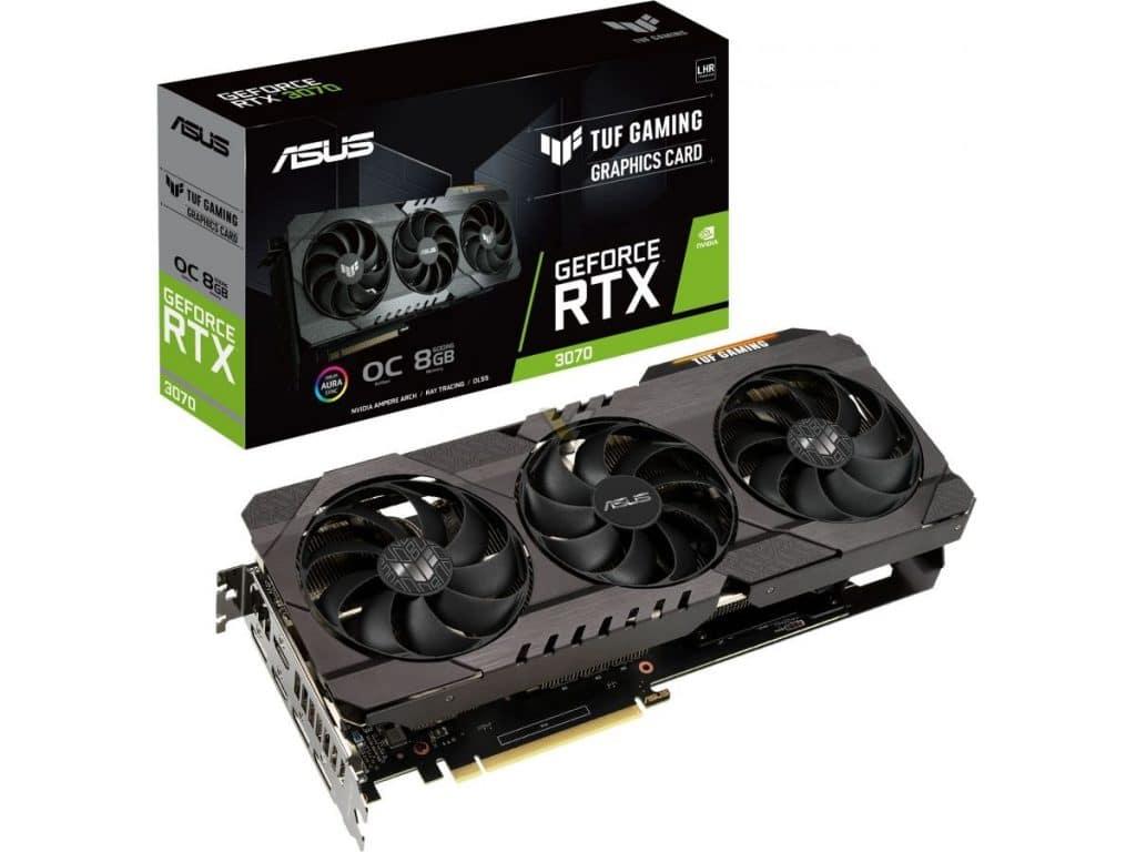 ASUS TUF GeForce RTX 3070 V2 OC