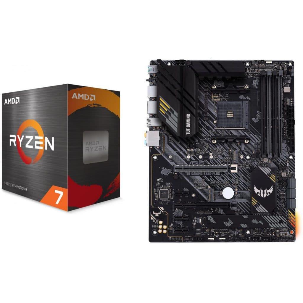 AMD Ryzen 7 5800 ASUS B550 TUF PLUS GAMING