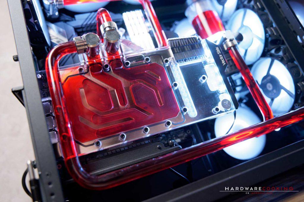 ASUS ROG Strix RTX 3090 O24G GAMING build watercooling EKWB