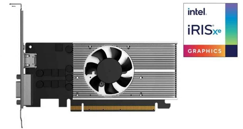 carte graphique Intel Iris Xe DG1 Gunnir