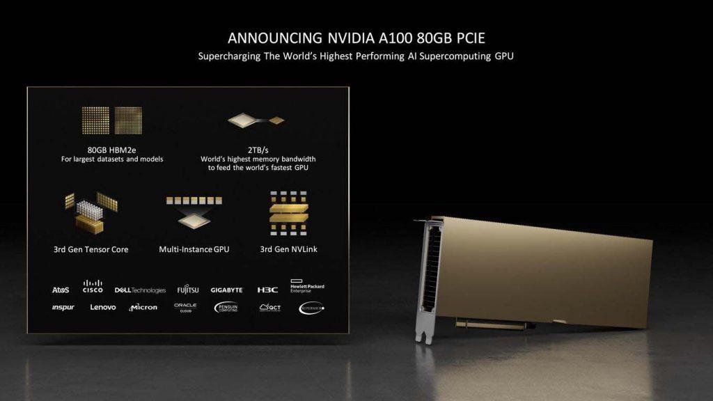 NVIDIA A100 PCIe 80 Go