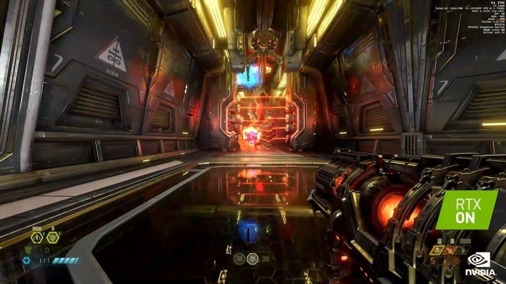 Doom Eternal RTX DLSS