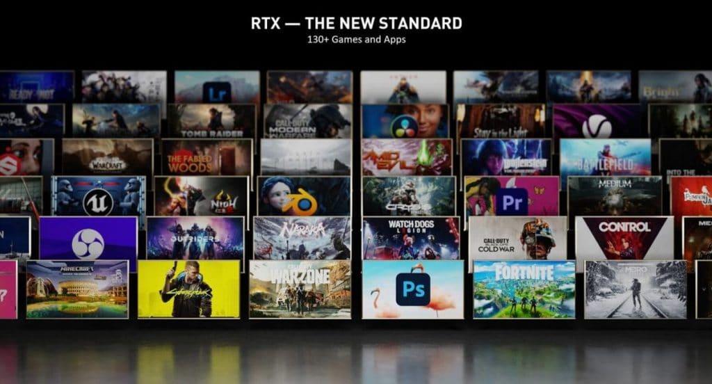 Liste des jeux NVIDIA RTX et DLSS