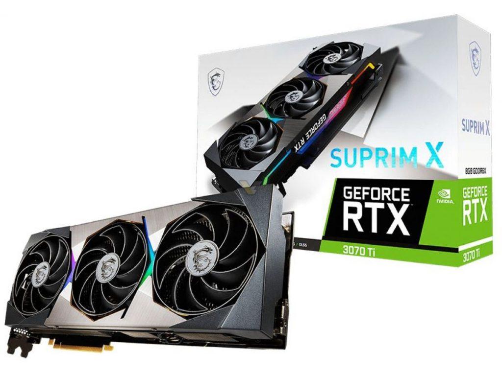 MSI Geforce RTX 3070 TI SUPRIM