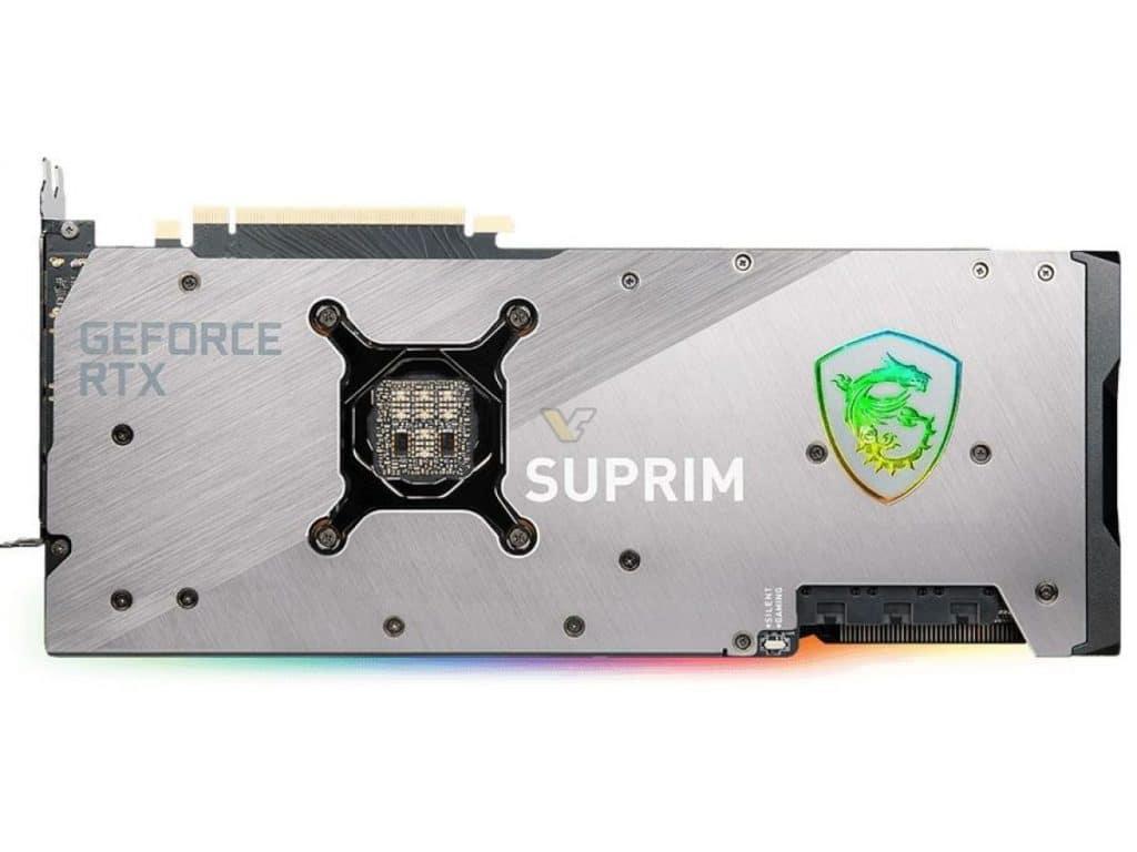 MSI Geforce RTX 3080 TI SUPRIM