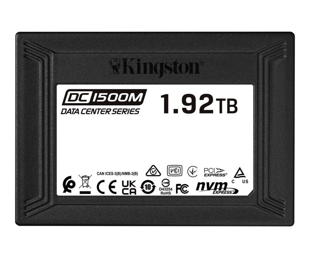 SSD Kingston DC1500M Data Center U.2 NVMe 1,92 To