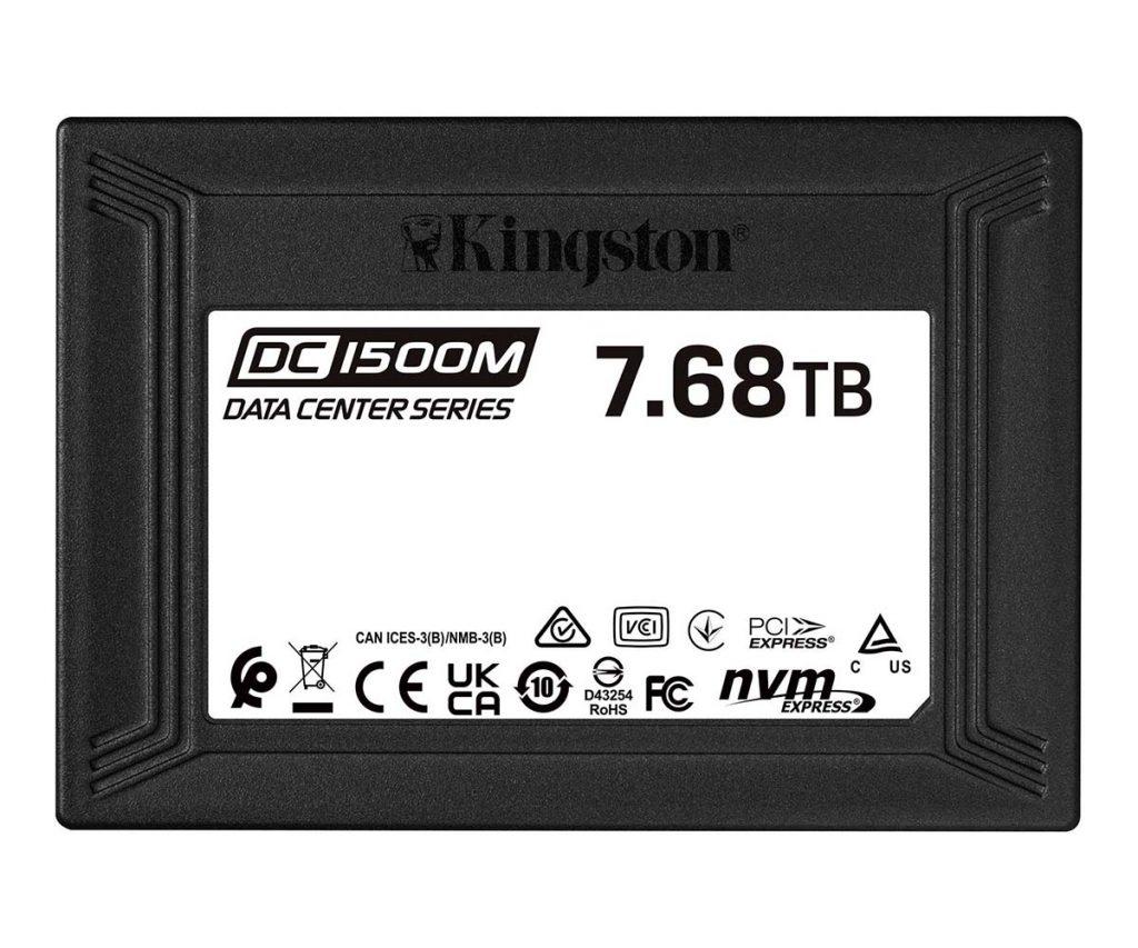 SSD Kingston DC1500M Data Center U.2 NVMe 7,68 To