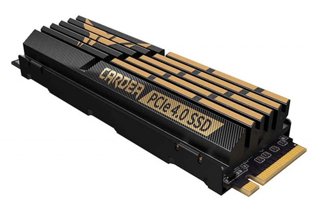 SSD TEAMGROUP T-FORCE CARDEA Z44Q dissipateur aluminium