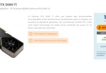 Stock NVIDIA RTX 3080 Ti Founders Edition