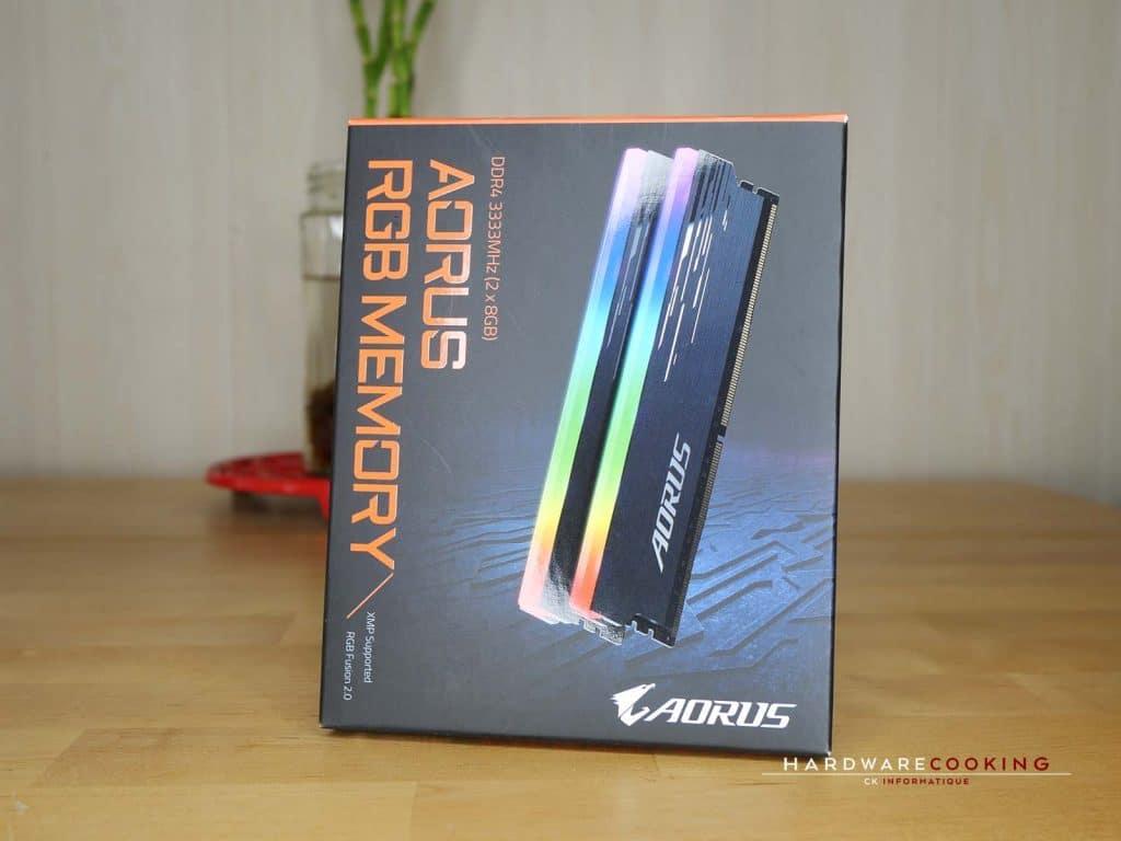 Boîte DDR4 AORUS