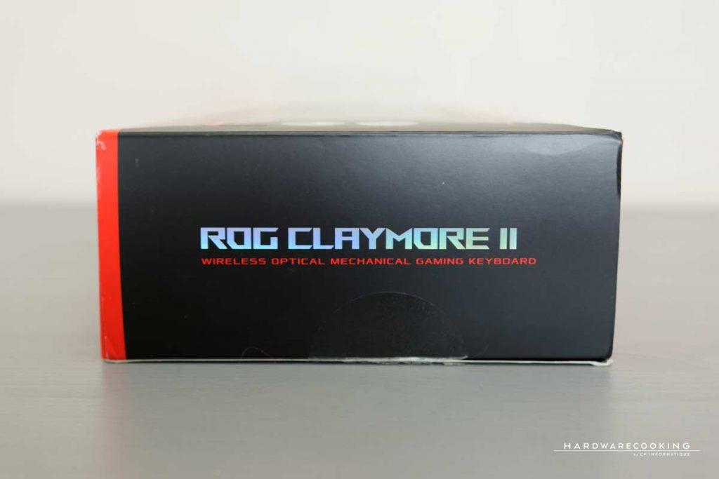 Boîte ASUS ROG CLAYMORE II
