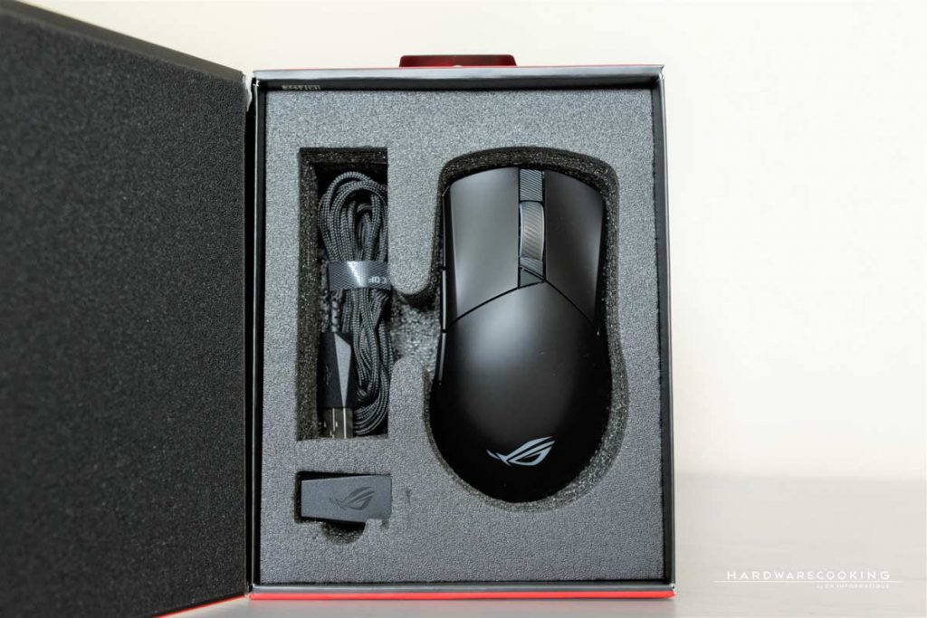 Boîte ASUS ROG Gladius III Wireless