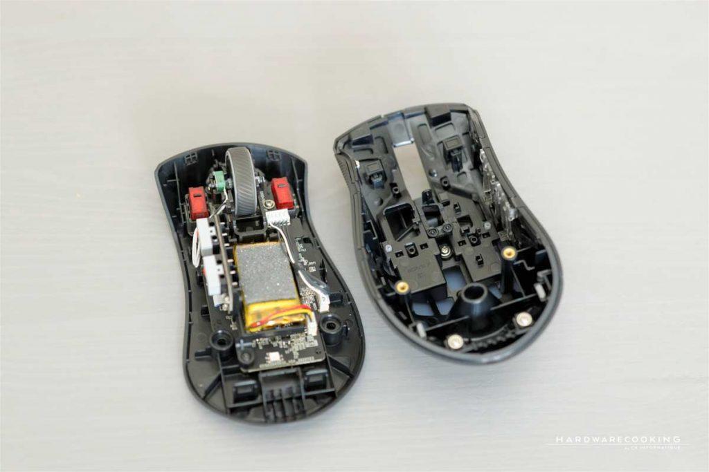 changer les commutateurs de la souris