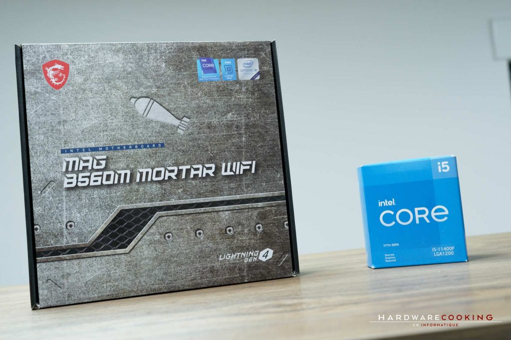 Test Intel Core i5-11400F