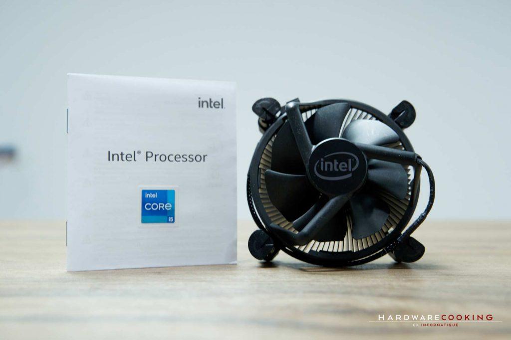 ventirad Intel Core i5-11400F