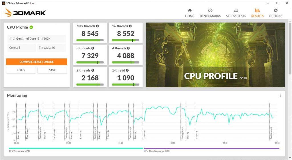UL Benchmarks 3DMark CPU