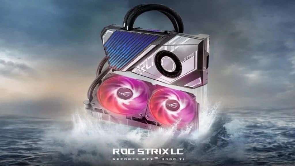 ASUS ROG Strix LC du RTX 3080 Ti