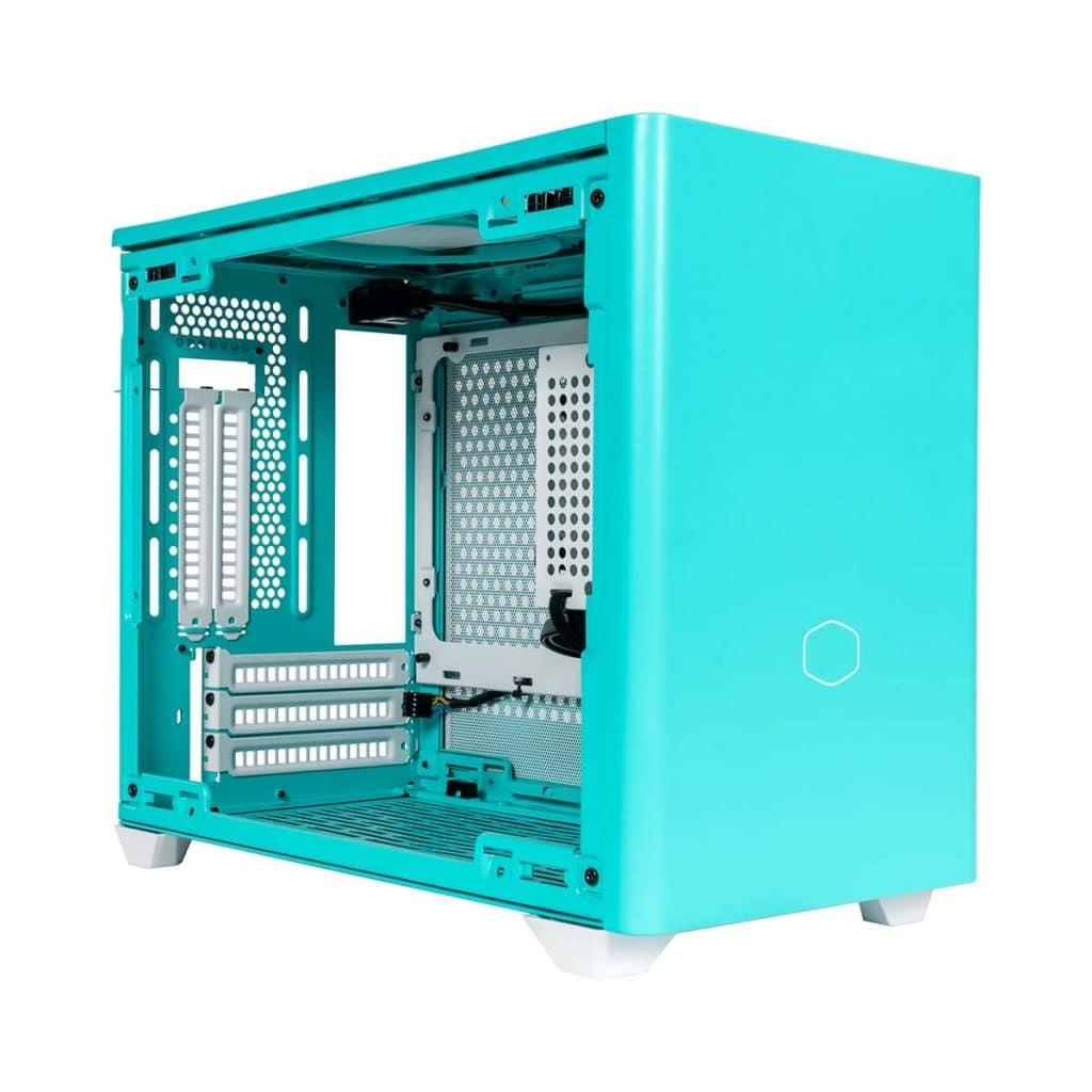 Boîtier Cooler Master NR200P Blue