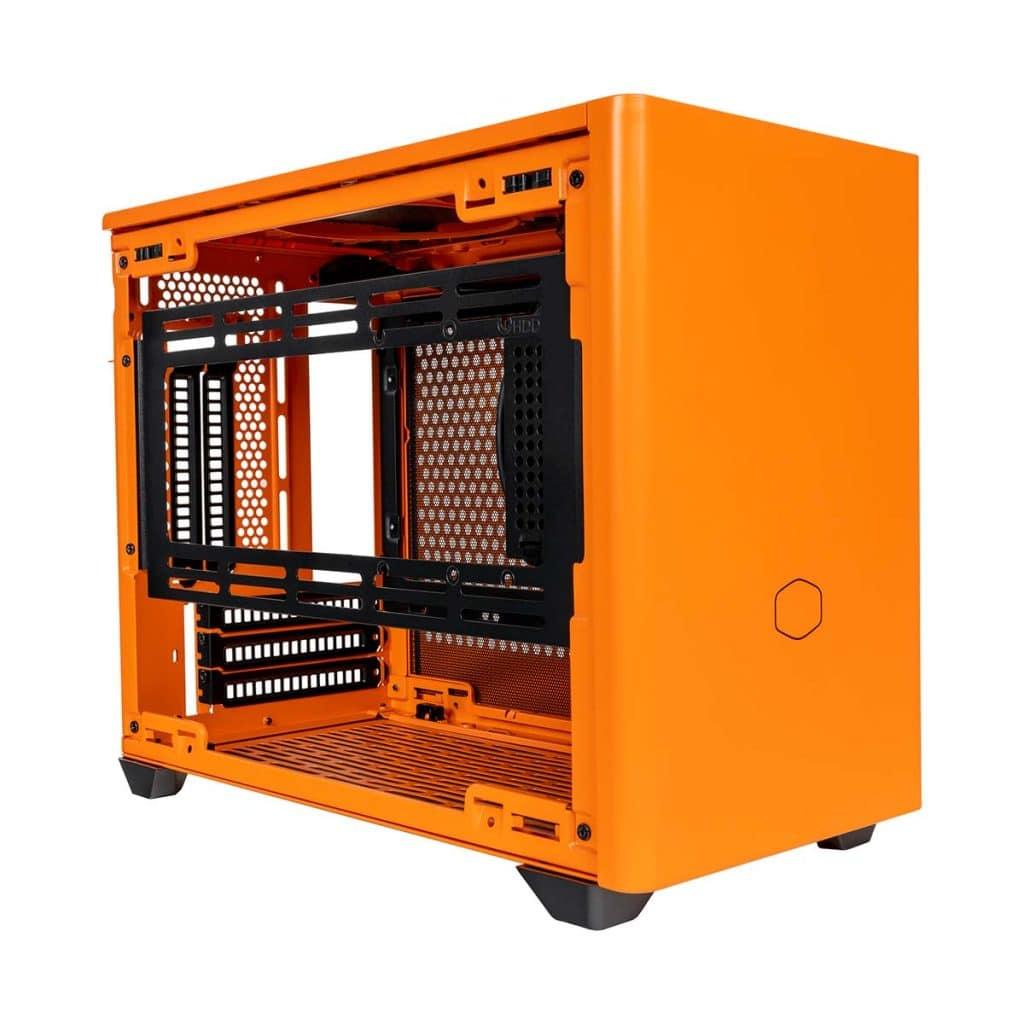Boîtier Cooler Master NR200P Orange