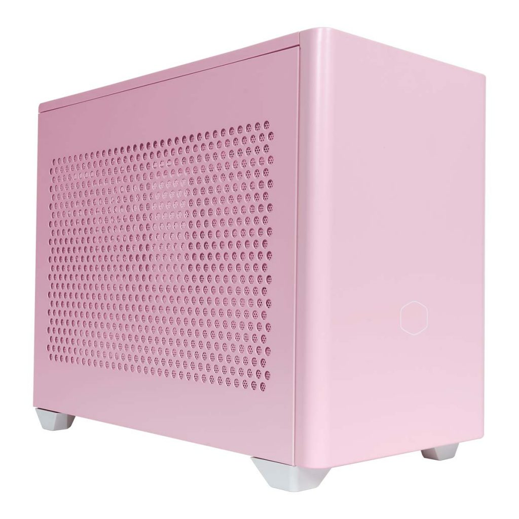 Boîtier Cooler Master NR200P Pink