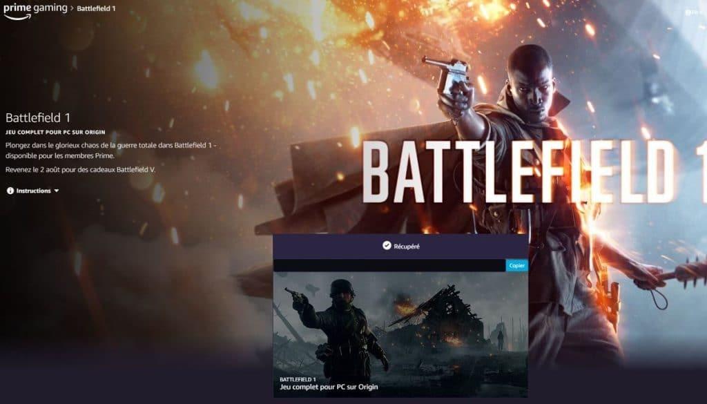 Bon plan Battlefield 1