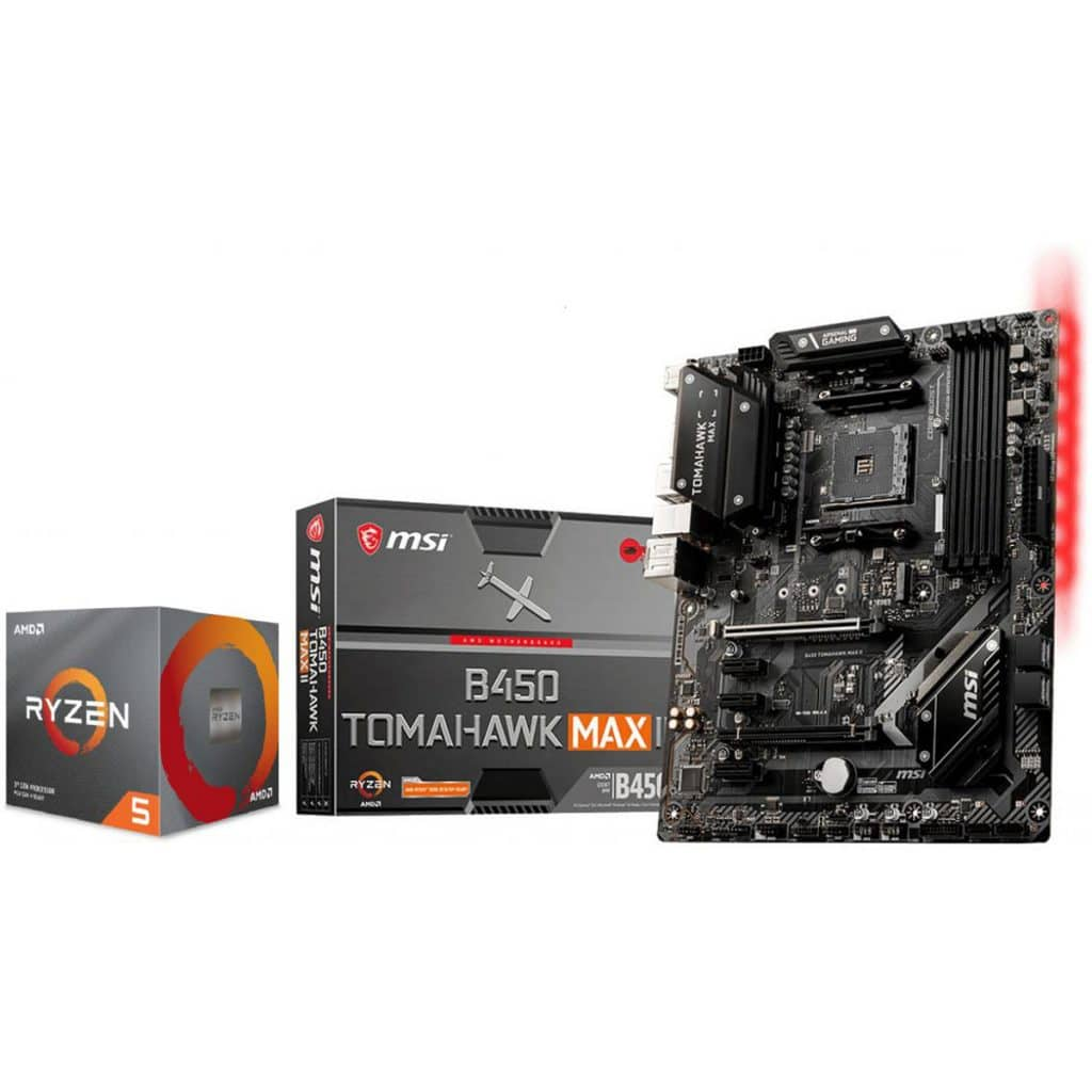 Bon plan Processeur AMD Ryzen 5 3600 + carte mère MSI MAG B450 TOMAHAWK MAX II