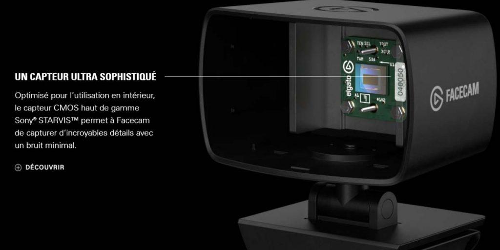 Elgato Facecam Capteur CMOS Sony Starvis