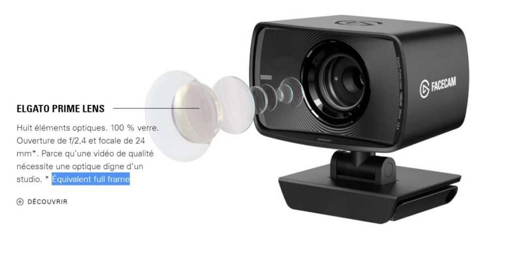 Elgato Facecam Elgato Prime Lens