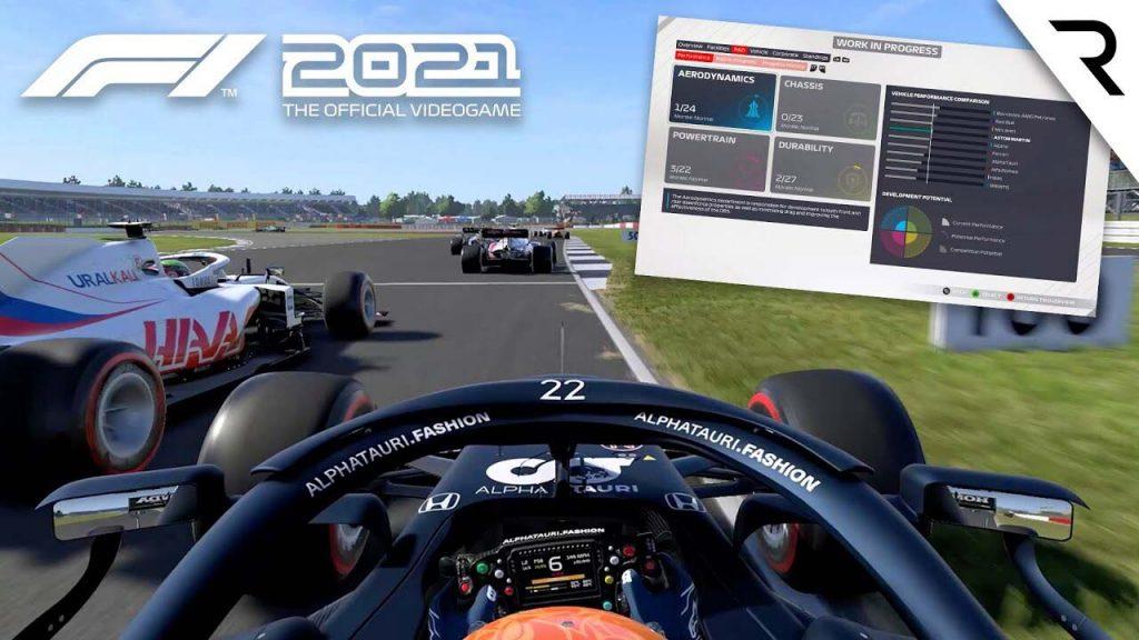 +6% sur F1 2021 avec les pilotes Radeon Software Adrenalin 21.7.1