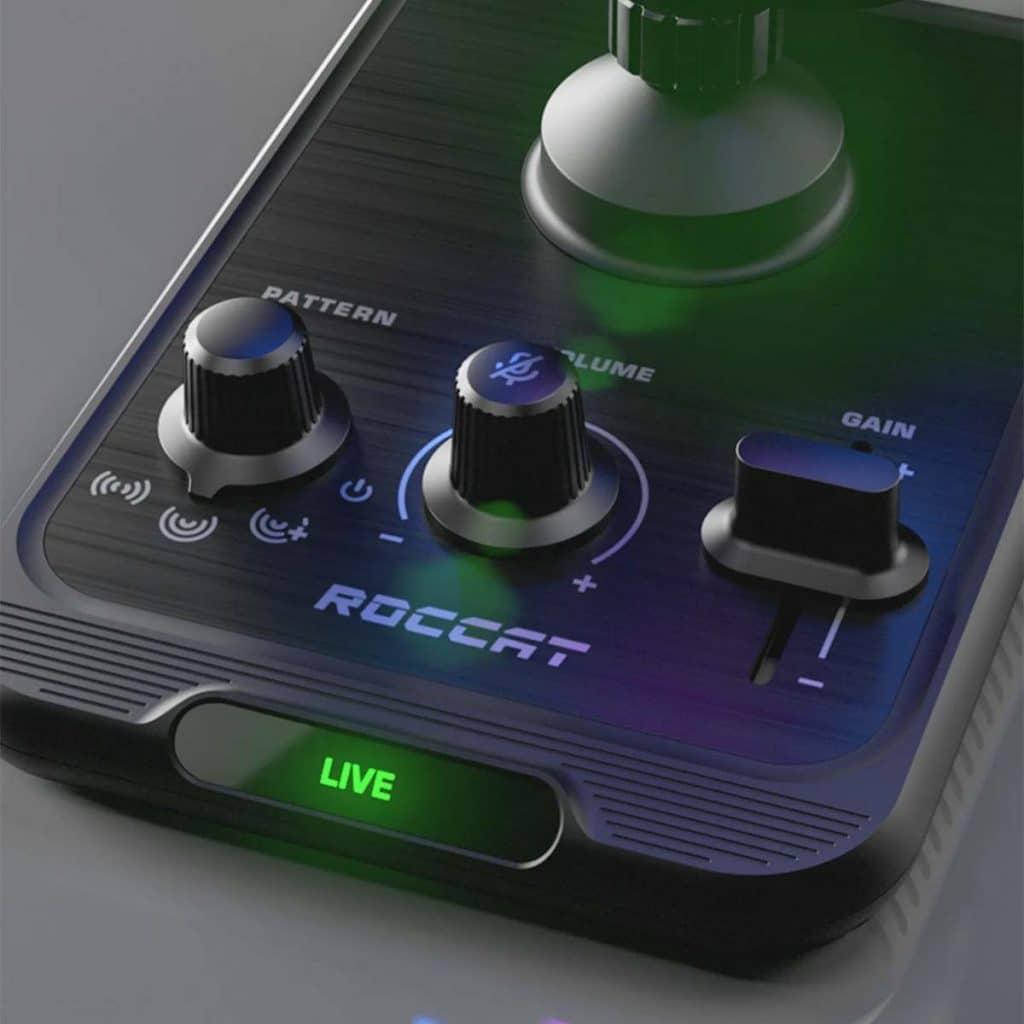 Réglages micro USB ROCCAT Torch