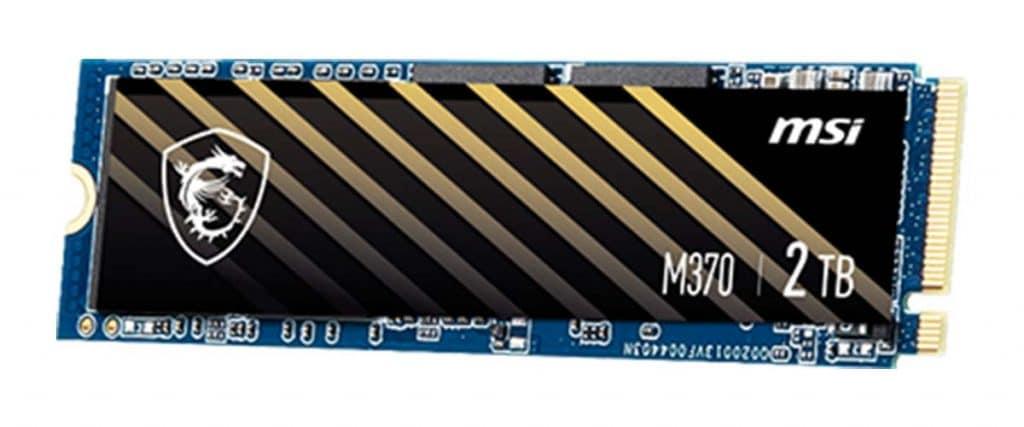 SSD MSI SPATIUM M370