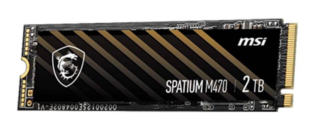 SSD MSI SPATIUM M470