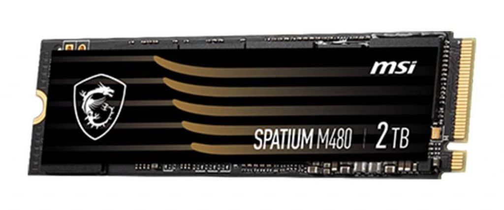 SSD MSI SPATIUM M480