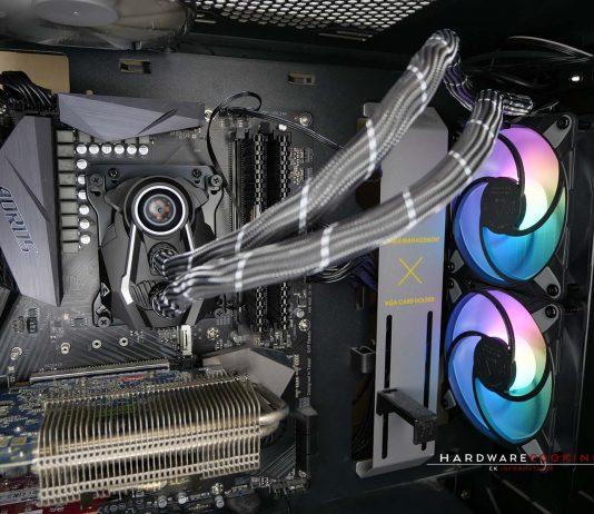 ARCTIC Liquid Freezer II 240 A-RGB monté