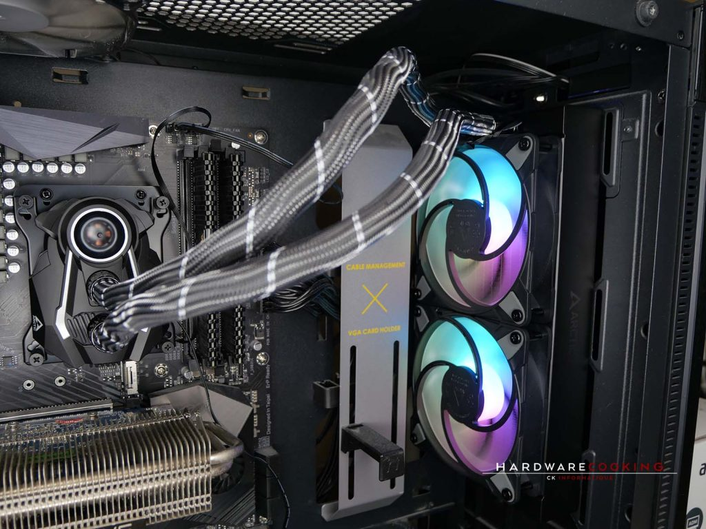 Test AiO ARCTIC Liquid Freezer II 240 A-RGB