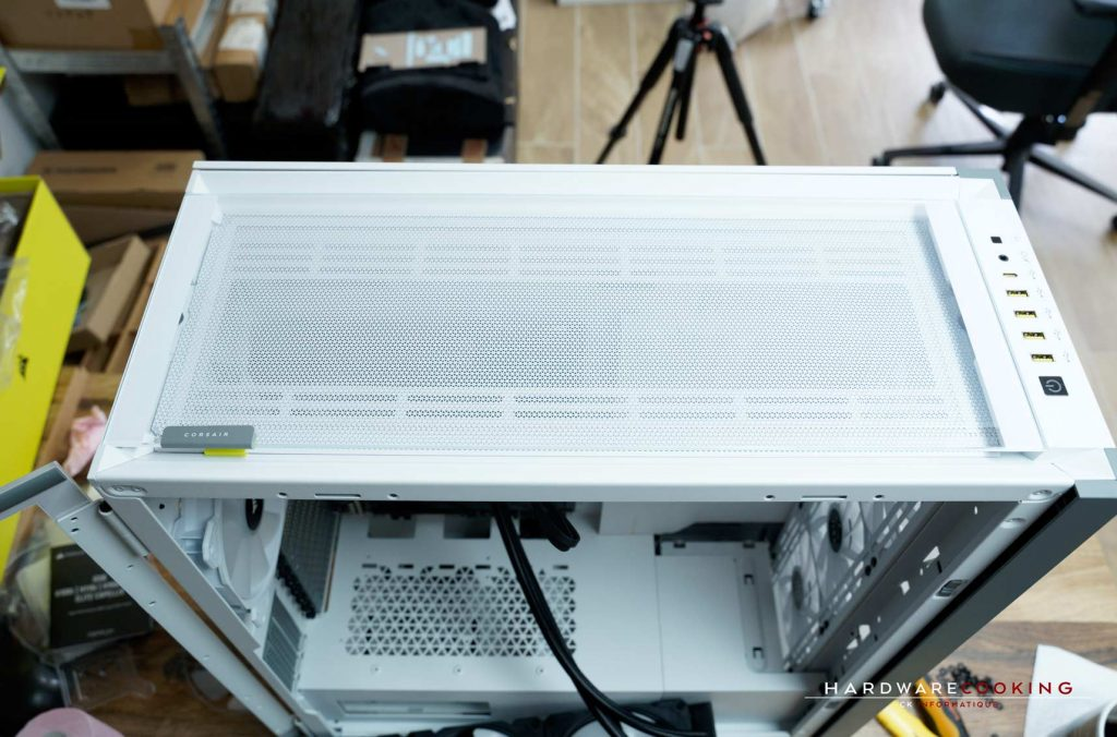 Installation radiateur AiO