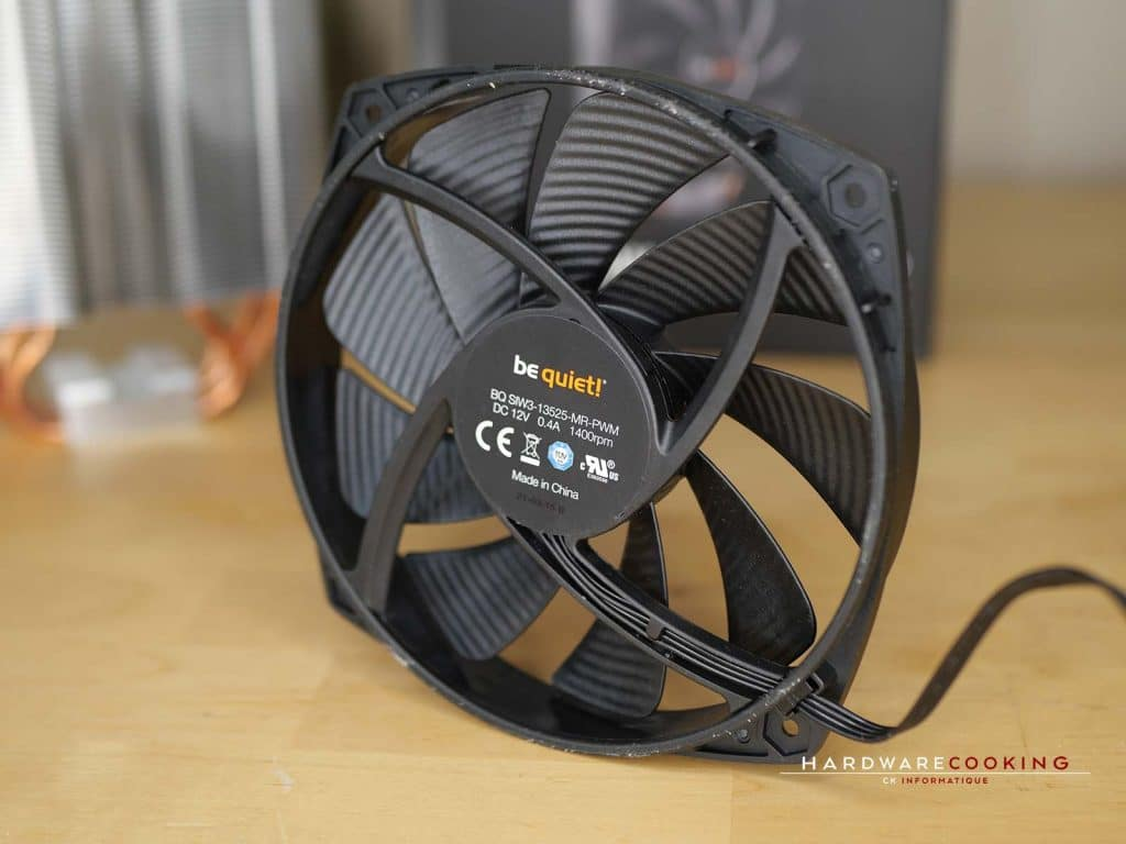 Ventilateur be quiet! 135 mm