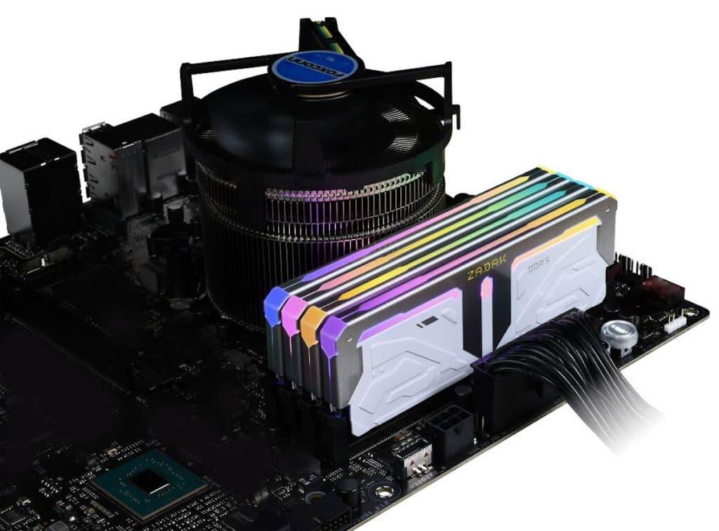Mémoire DDR5 ZADAK Spark : un kit 32 Go à 7200 MHz